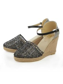 Daniel Kingscavil espadrille wedge sandals