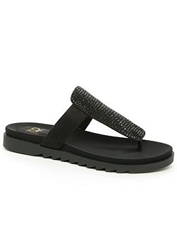Lydiard t-bar toe post sandals