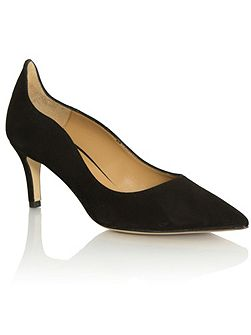 Manzano low heel court shoes