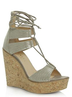 New england strappy wedge sandals