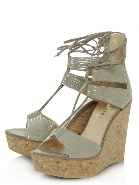 Daniel New england strappy wedge sandals