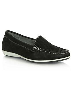 Poppleton perforated loafers