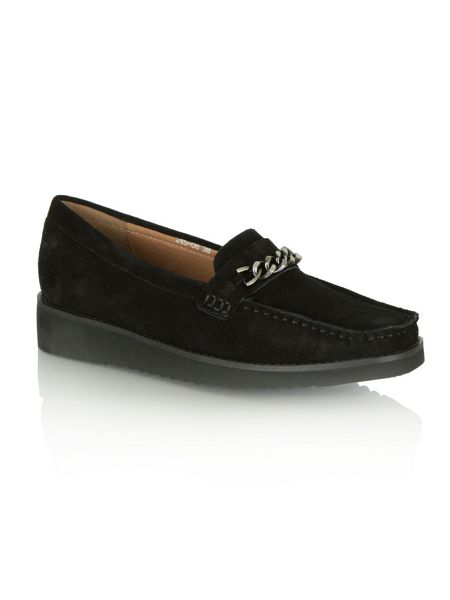 Daniel Rawcliffe chunky chain loafers