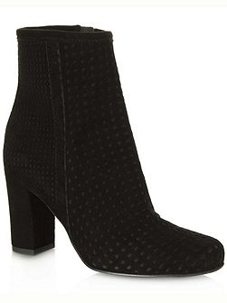 Rosemead perforated ankle boots