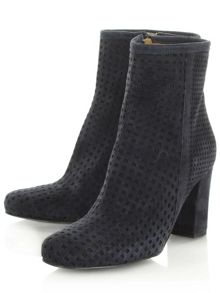 Daniel Rosemead perforated ankle boots