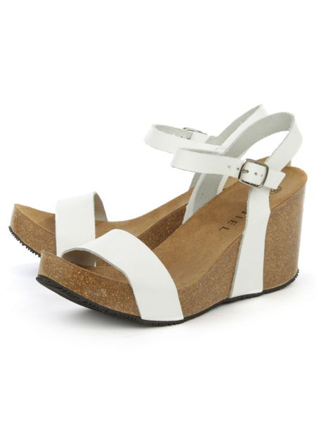 Daniel Ryther corked wedge sandals