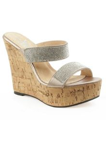 Daniel Shaymen crystals wedge sandals
