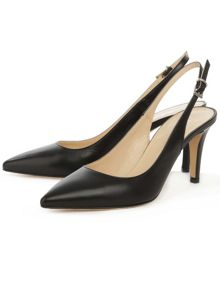 Daniel Summersville slingback court shoes