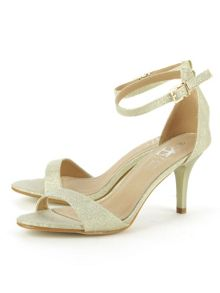 Daniel Waverton glitz one strap sandals