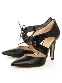 Daniel Whitestone lace front court shoes