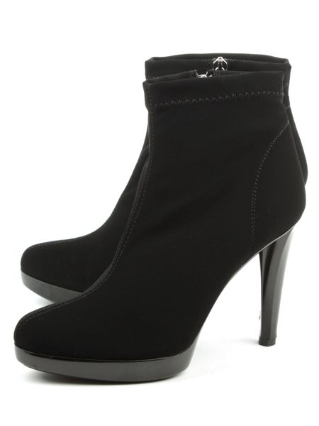 Daniel Renee low platform ankle boots