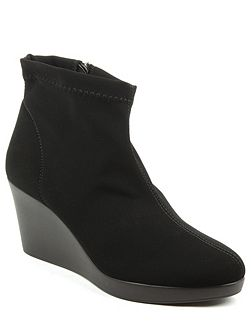 Rosetta wedge ankle boots