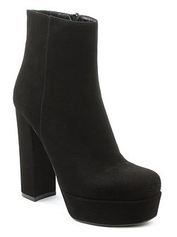 Gemma high block heel ankle boots