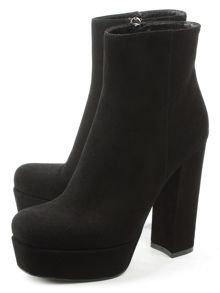 Daniel Gemma high block heel ankle boots
