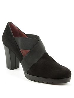 Janie cross block heel