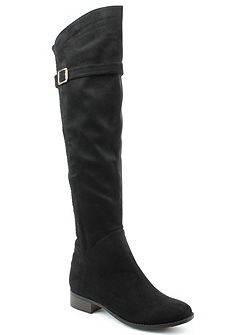 Denali stretch lattice over knee boots