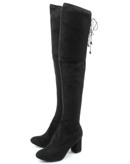 Daniel Skyang high over knee boots
