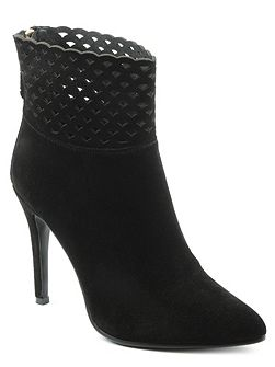 Highgrove perforated ankle boots