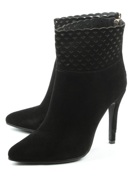 Daniel Highgrove perforated ankle boots