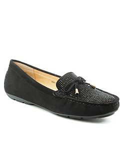 Clarendon embellished flat loafers