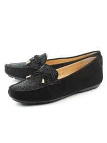 Daniel Clarendon embellished flat loafers