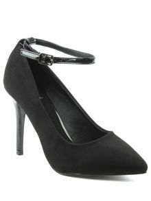 Daniel Meadowbeck pointy contrast court shoes