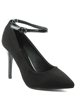 Meadowbeck pointy contrast court shoes