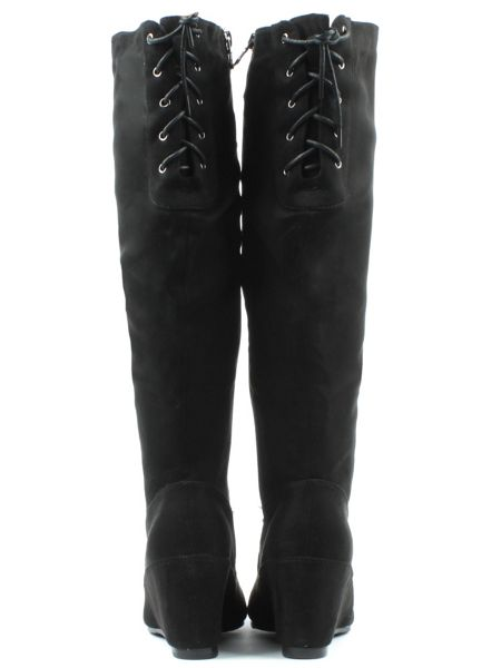 Daniel Middlecroft wedges knee boots