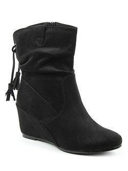 Storking wedges ankle boots