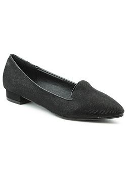 Paddock way sparkly pointed toe pumps