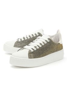 Daniel Astoloa sparkle lace up trainers
