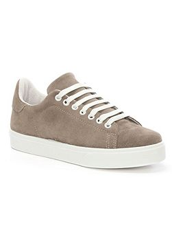 Blasket lace up trainers
