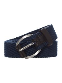 Ben Sherman Herringbone Webbing Cotton Belt