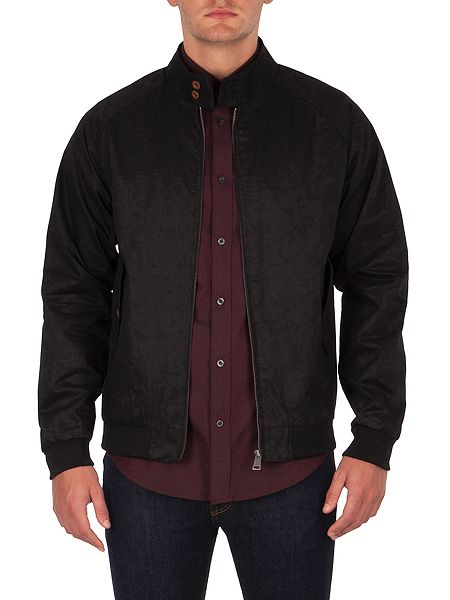 ben sherman the harrington jacket jet black house of fraser. Black Bedroom Furniture Sets. Home Design Ideas