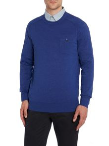 Crew Neck Knitwear With Pocket