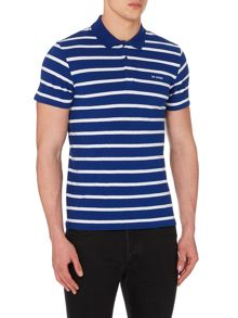 Breton Stripe Regular Fit Polo Shirt