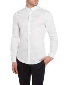 Ben Sherman Stretch Poplin Long Sleeve Shirt