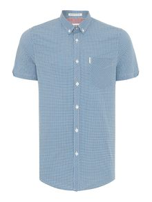 Ben Sherman Mini Mod Check Short Sleeve Shirt