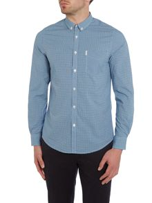 Ben Sherman Mini Mod Check Long Sleeve Shirt