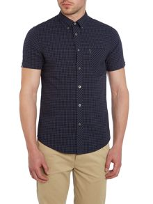 Classic Gingham Check Short Sleeve Shirt