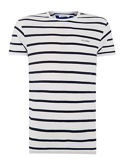 Breton Stripe Crew Neck Regular Fit T-Shirt