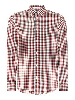 House Gingham Check Long Sleeve Shirt