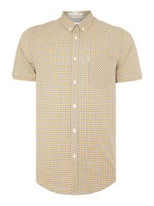 Ben Sherman Mini Mod Check Shirt Sleeve Shirt