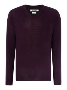 Ben Sherman Merino V neck jumper
