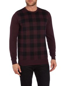 Ben Sherman Oversized check jumper