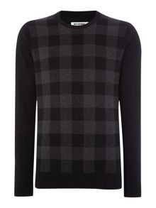 Oversized check jumper