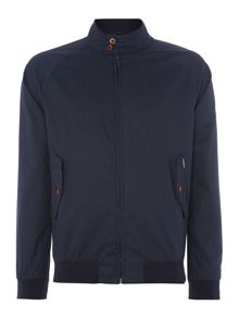 Casual Full Zip Harrington Jacket