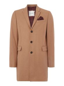 Melton covert coat