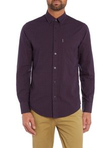 Ben Sherman Classic Gingham Check Long Sleeve Shirt