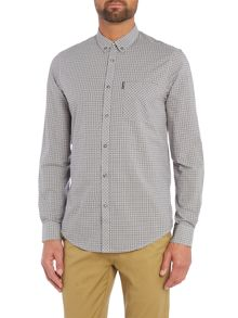 Mini Mod Check Long Sleeve Shirt